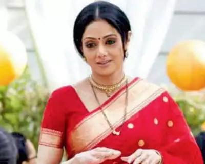 Sridevi- Birth anniversary of the First Female Superstar 10