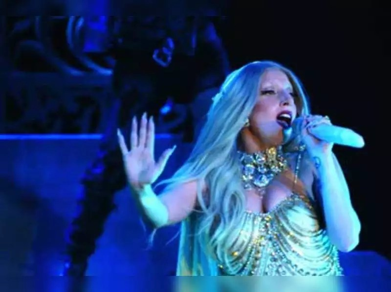 Lady Gaga Lady Gaga Was Thrilled About The Sari Hindi Movie News Times Of India