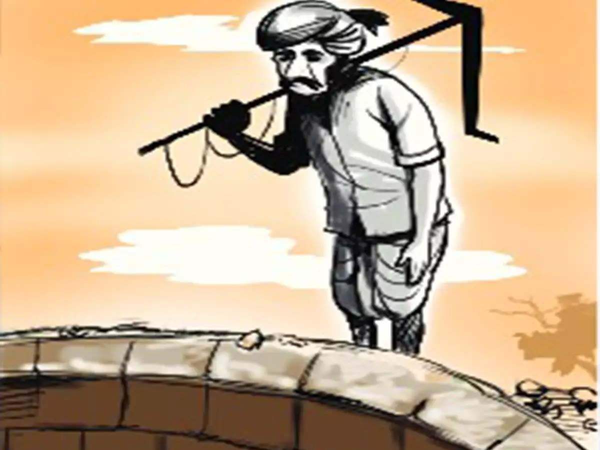 Crime News - Koulu Farmer Commits Suicide In Andhra