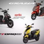 125cc Scooter Sports Scooter Battle Honda Grazia Vs Tvs Ntorq Vs Aprilia Sr 125 Times Of India
