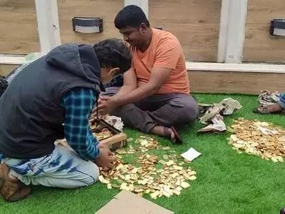 Telugu Crime News Roundup Today-Vizag Police Seize Gold Biscuits Smugglers