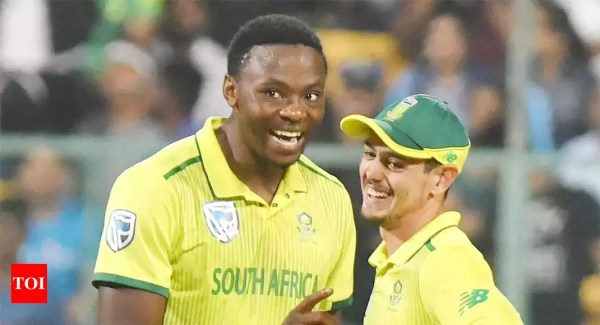 India vs South Africa: Stuck to our plans, kept up pressure on India, says Quinton de Kock - Times of India