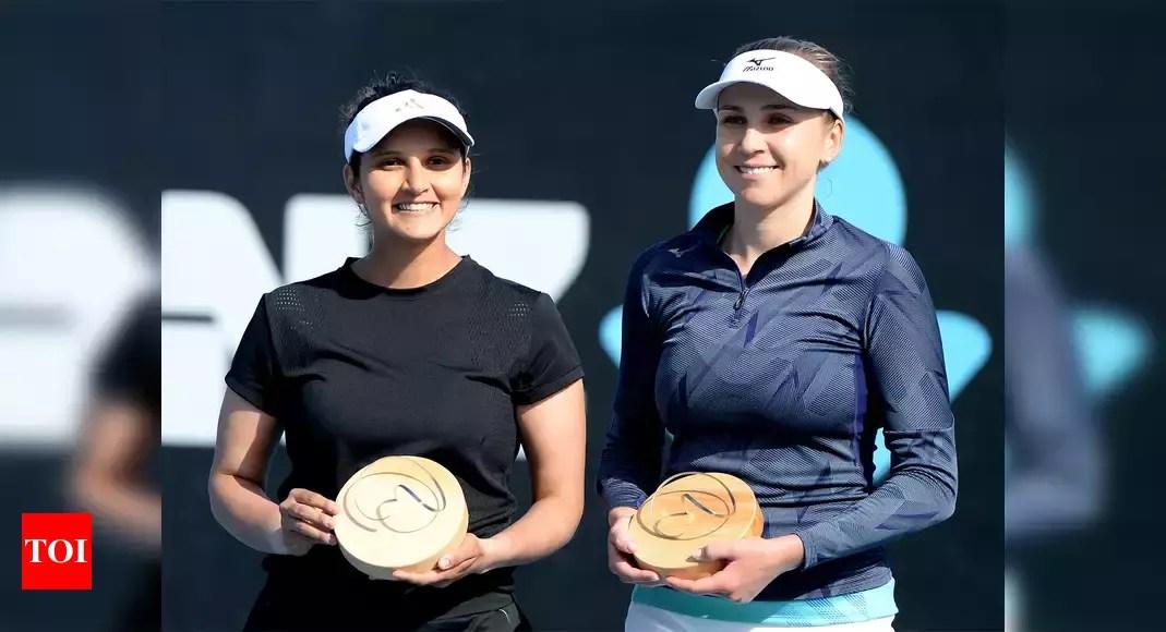 Sania Mirza Wins Doubles This Time