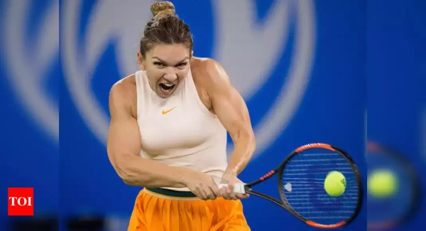 Simona Halep downs battling Ons Jabeur in Dubai - Times of India