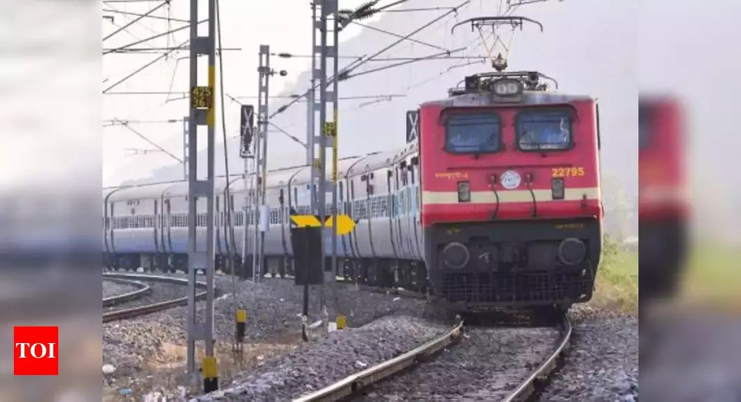 Railways begins process to invite private players in passenger train operations – Times of India