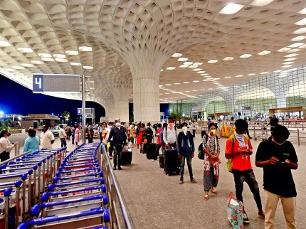 Mumbai airport rolls out contactless check-in system for passengers Mumbai