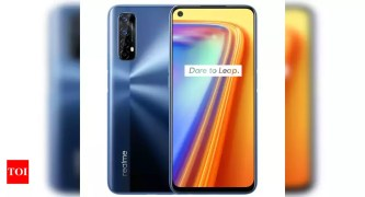 realme 7 sale:  Realme 7 with MediaTek Helio HG95 processor to go on sale today - Times of India