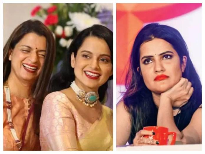 Rangoli Chandel reacts to Kangana Ranaut blocking Sona Mohapatra on Twitter: She can't stand below average junk