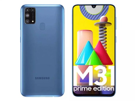 samsung galaxy m31 prime: Samsung Galaxy M31 Prime edition launched at Rs  16,499 - Times of India