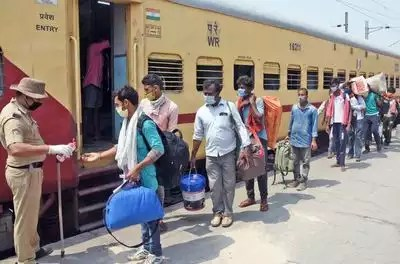 Govt proposes allowance for home trip for migrant workers   India News - Times of India