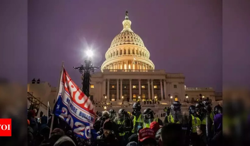 US Capitol Hill siege explained: How it happened and who were involved? – Times of India