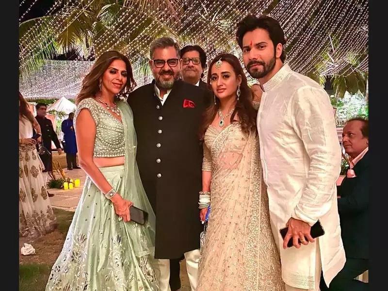Inside pictures from Varun Dhawan and Natasha Dalal's wedding   Hindi Movie  News - Times of India