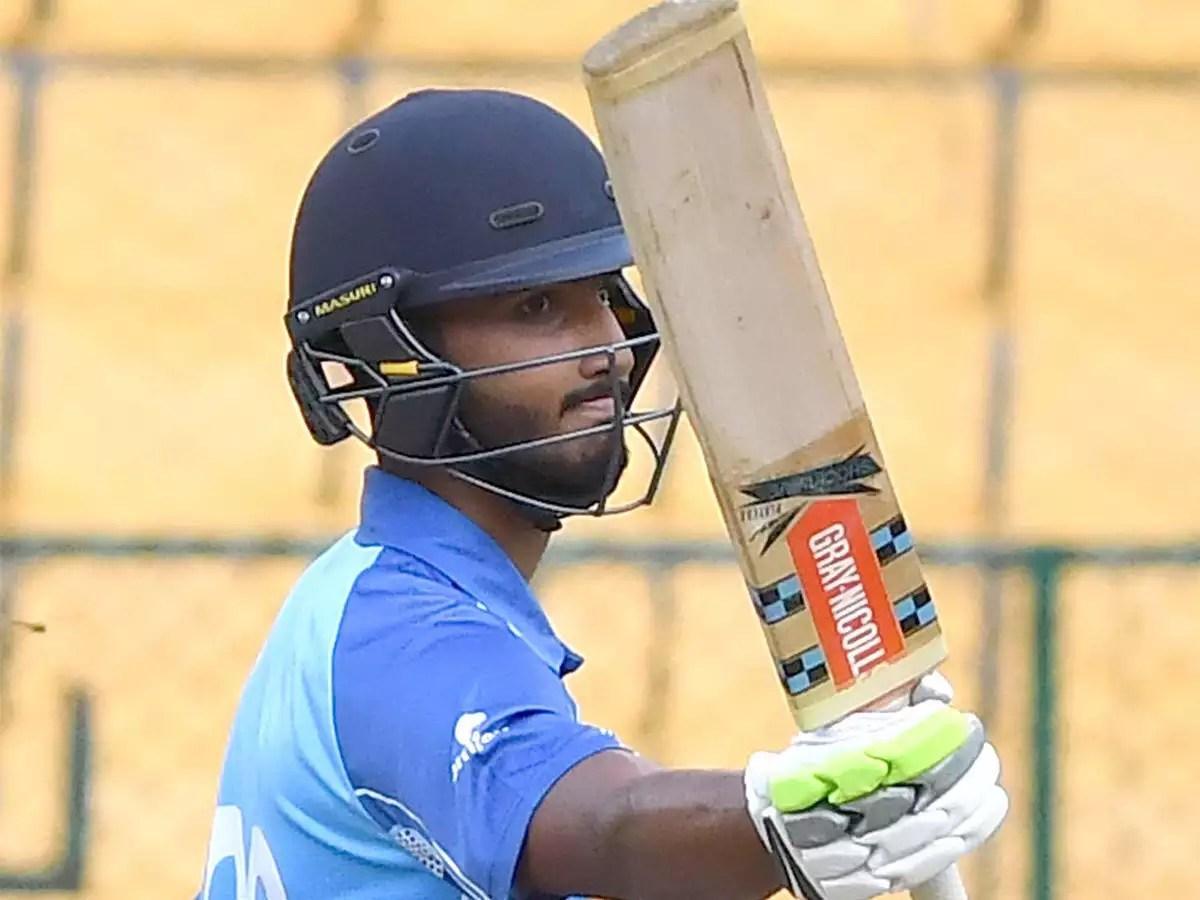 Vijay Hazare Trophy: Devdutt Padikkal cracks second successive ton as  Karnataka thrash Kerala | Cricket News - Times of India