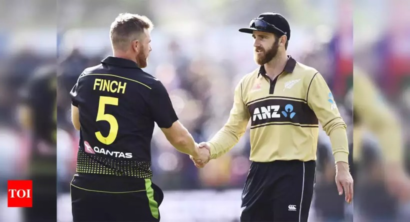 New Zealand vs Australia: Third and fourth T20Is to be played behind closed doors | Cricket News – Times of India
