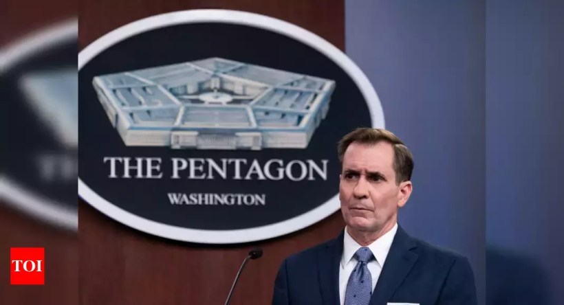 Pentagon: US contractor dies in rocket attack at Iraq base – Times of India