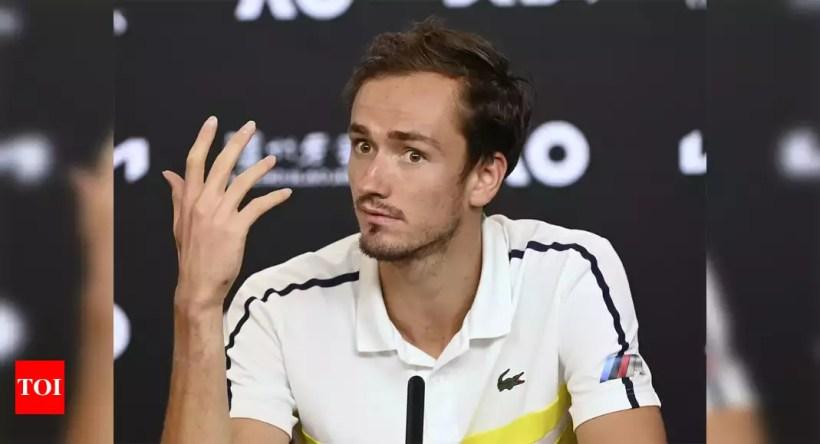 Medvedev confirmed to break 'Big Four' 15-year rankings grip   Tennis News – Times of India