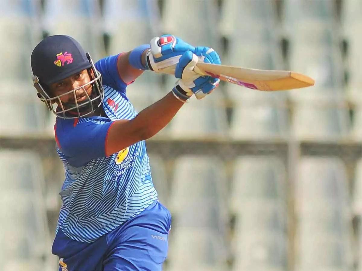 Vijay Hazare Trophy: Prithvi Shaw scores fourth century, becomes leading  run-scorer | Cricket News - Times of India