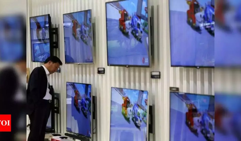 TV Price in India: TV prices to go up from April as open-cell panels get costlier in global markets   India Business News – Times of India