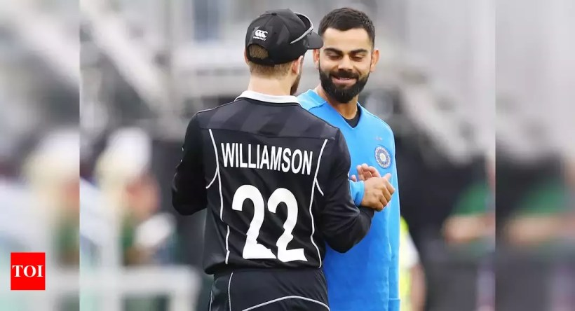 virat kohli:  Virat Kohli equals Kane Williamson's record with consecutive T20I fifties | Cricket News – Times of India