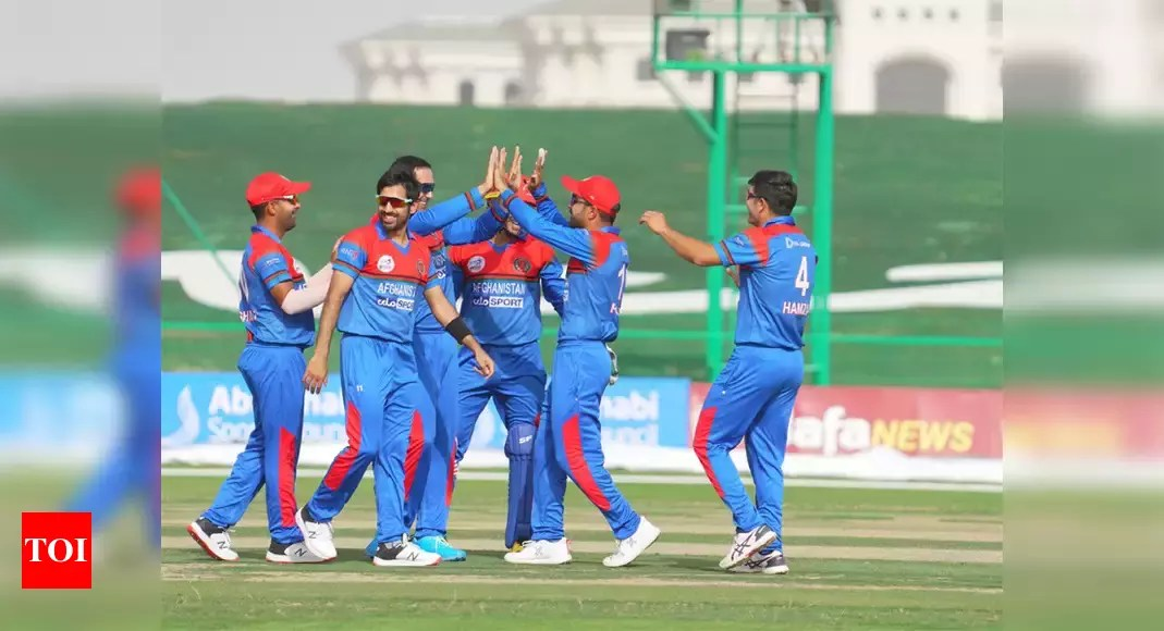 second T20I: All-rounder Nabi assists Afghanistan with fixing arrangement prevail upon Zimbabwe   Cricket News