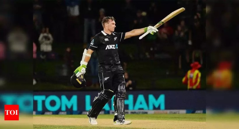 2nd ODI: Tom Latham ton secures New Zealand's series-clinching win against Bangladesh | Cricket News – Times of India