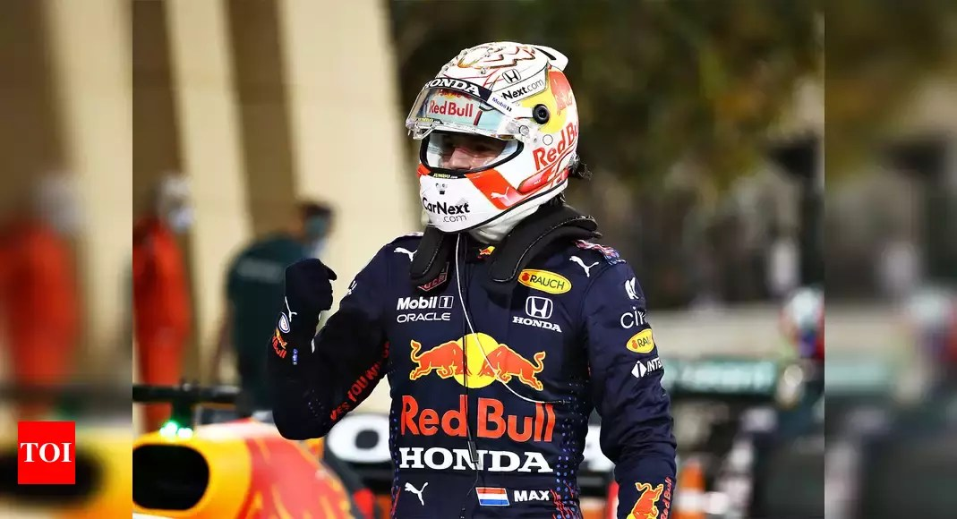 F1: Verstappen beats Hamilton to pole at season-opening Bahrain Grand Prix | Racing News – Times of India