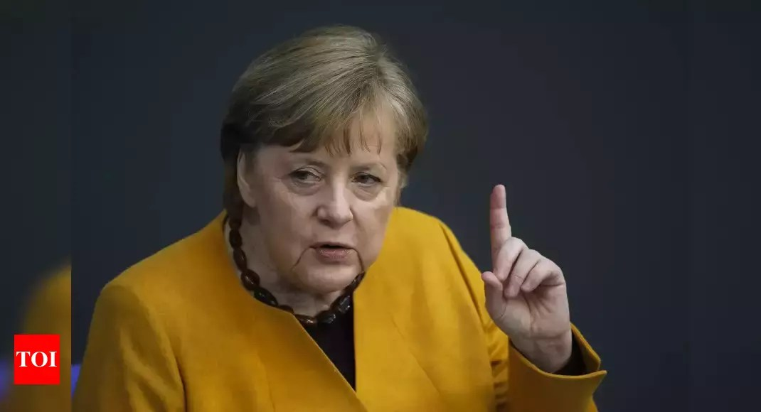 Merkel blames German 'perfectionism' for current virus woes – Times of India