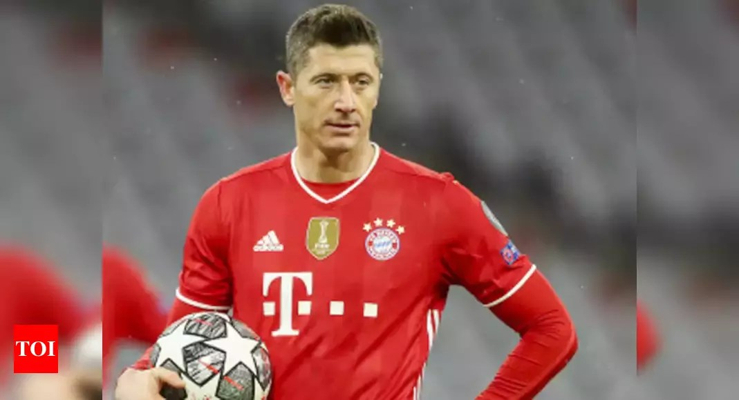 Bayern's Lewandowski ruled out for four weeks with knee injury | Football News – Times of India