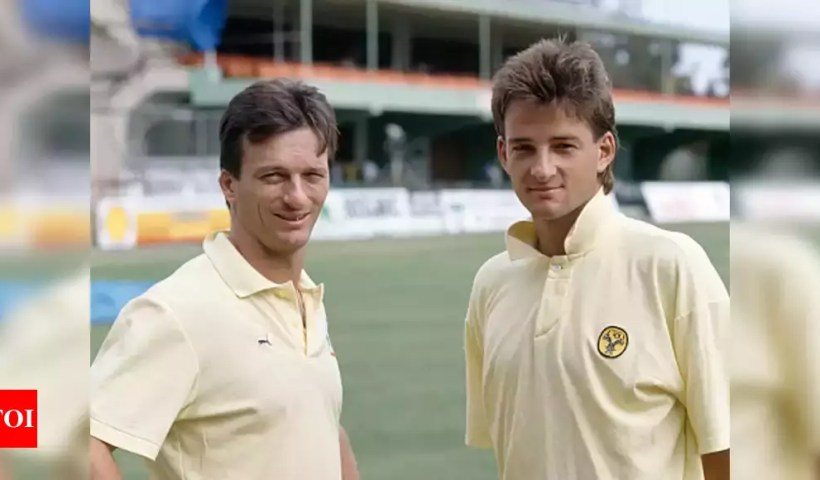 On this day in 1991: Waugh brothers became first pair of twins to play a Test   Cricket News – Times of India