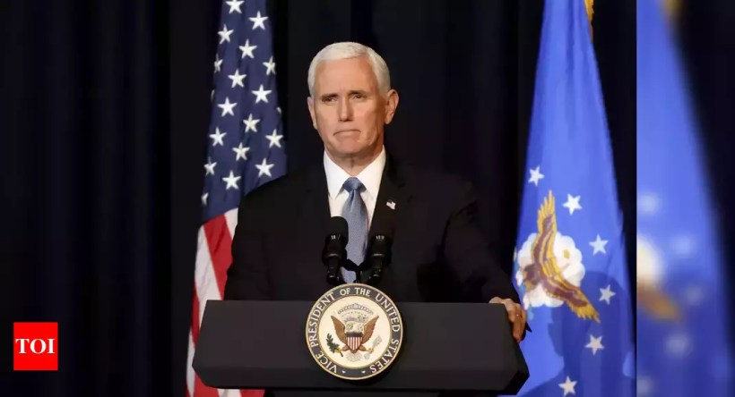 Mike Pence:  Former US Vice President Mike Pence memoir set for 2023 release – Times of India