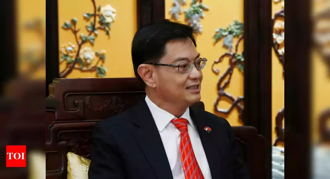 Singapore's designated future leader Heng Swee Keat steps aside – Times of India