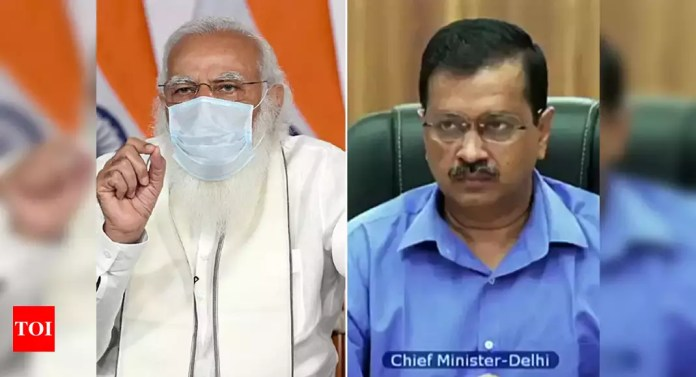 'Inappropriate': PM Modi objects to 'protocol break' during meeting; Delhi CM expresses regret   India News - Times of India   Latest News Live   Find the all top headlines, breaking news for free online April 23, 2021