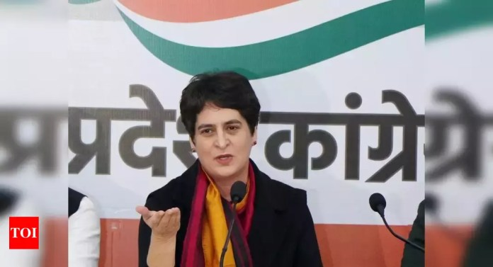 Covid-19 outbreak: Priyanka Gandhi asks Congress workers to help people | India News - Times of India | Latest News Live | Find the all top headlines, breaking news for free online April 23, 2021