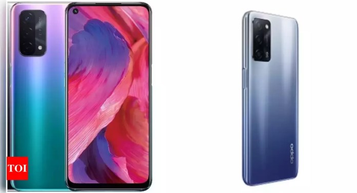 Oppo A74 5G vs Oppo A53s 5G: How the two recently launched Oppo A-series phones compare - Times of India | Latest News Live | Find the all top headlines, breaking news for free online April 27, 2021