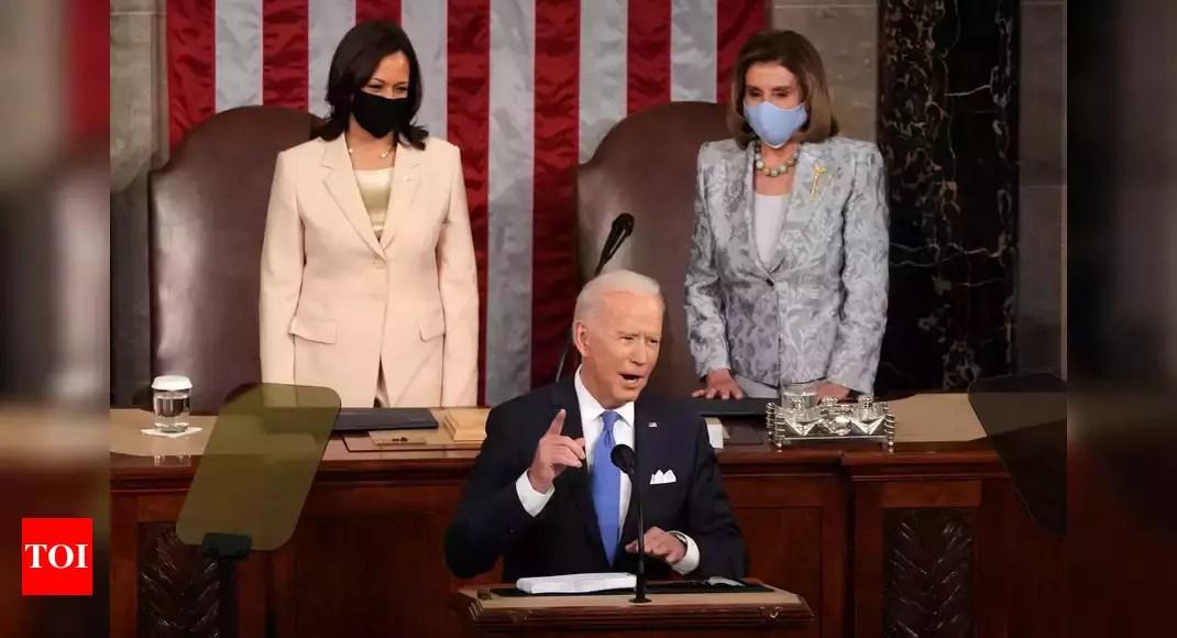 Biden warns US Congress: China 'closing in fast' – Times of India