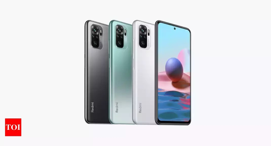 Xiaomi Redmi Note 10 gets a price hike in India, now available at a starting price of Rs 12,499 – Times of India