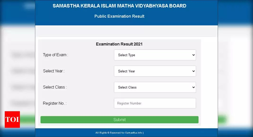 Kerala Samastha public examination results for classes 5, 7, 10, 12 announced – Times of India ►
