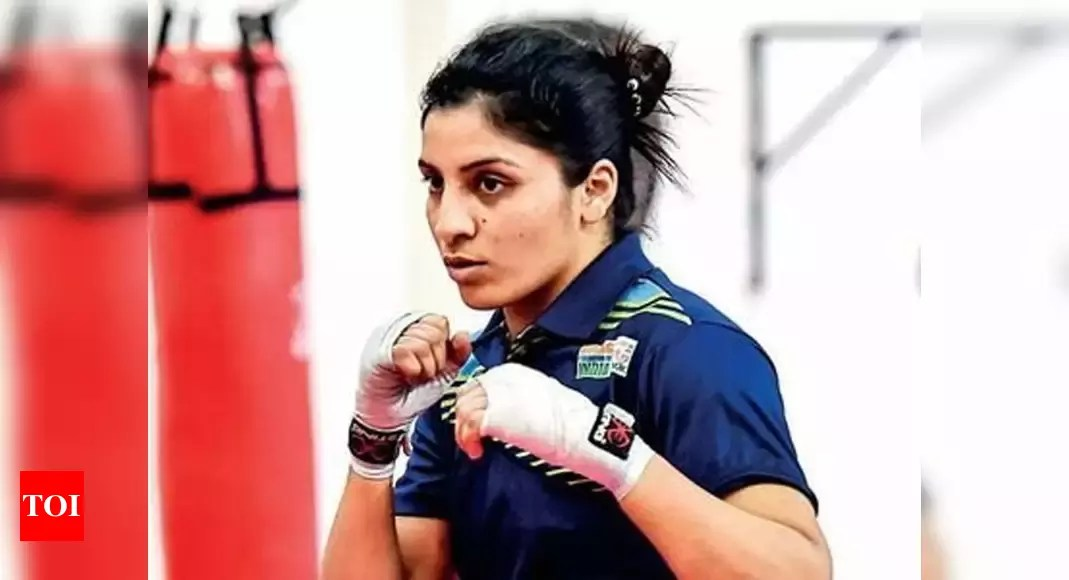 Covid-stricken boxer Simranjit Kaur dropped from India squad for Asian Championships | Boxing News – Times of India