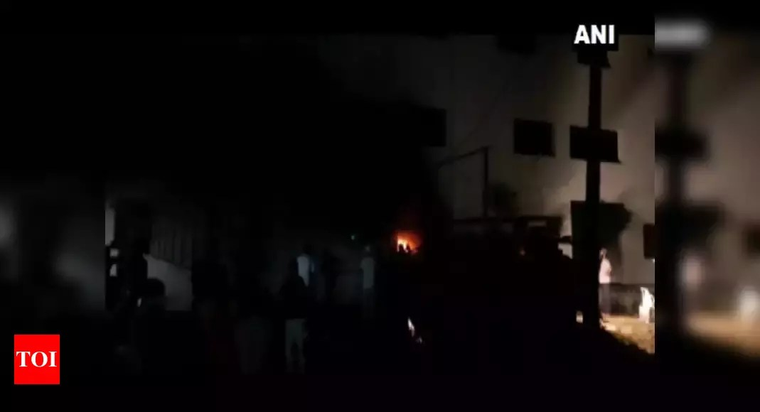 Gujarat: 18 coronavirus patients die in Bharuch hospital fire | India News – Times of India