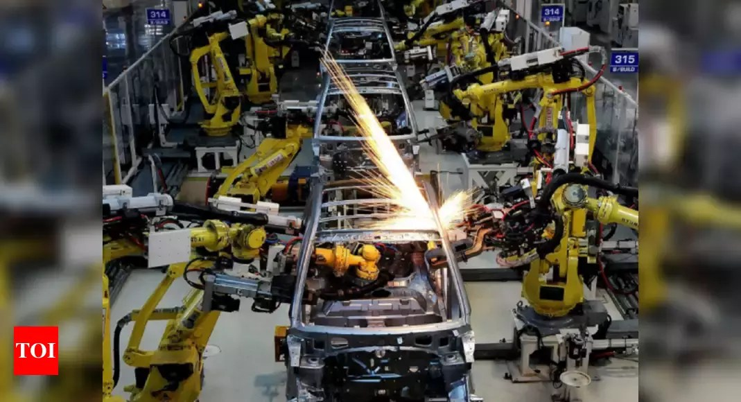 Manufacturing activity steady in April despite Covid – Times of India