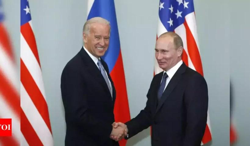 First US-Russia meeting ahead of Biden-Putin summit – Times of India