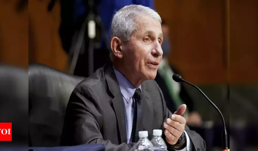 GOP sees opening to revive attacks on Fauci in email trove – Times of India