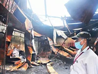 पुणे में आग दुर्घटना के मामले में फर्म का साथी गिरफ्तार, 2 के खिलाफ अपराध | पुणे समाचार