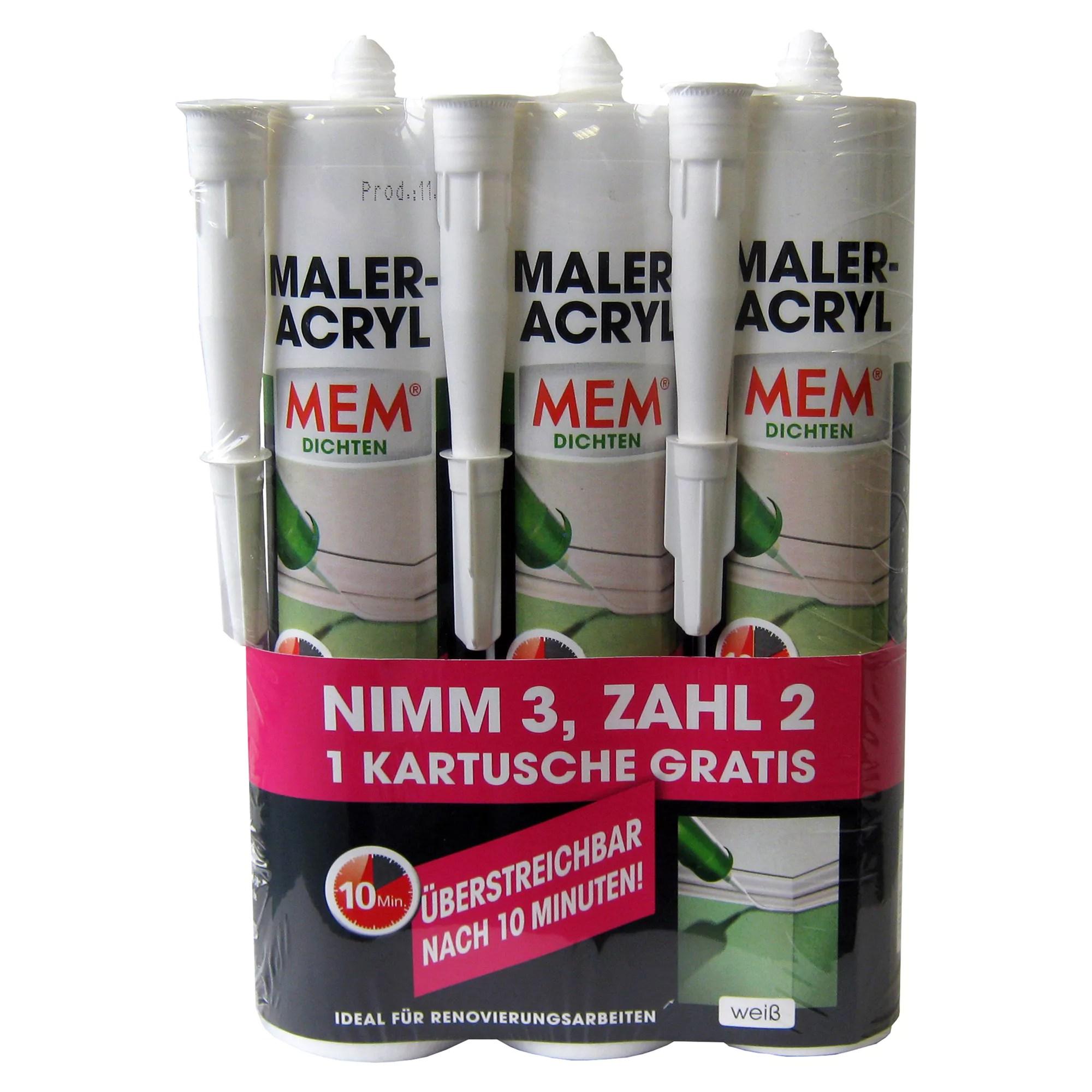 20 X Alfa Acryl Dichtstoff Weiss 310 Ml Besonders Schnell Hartendes
