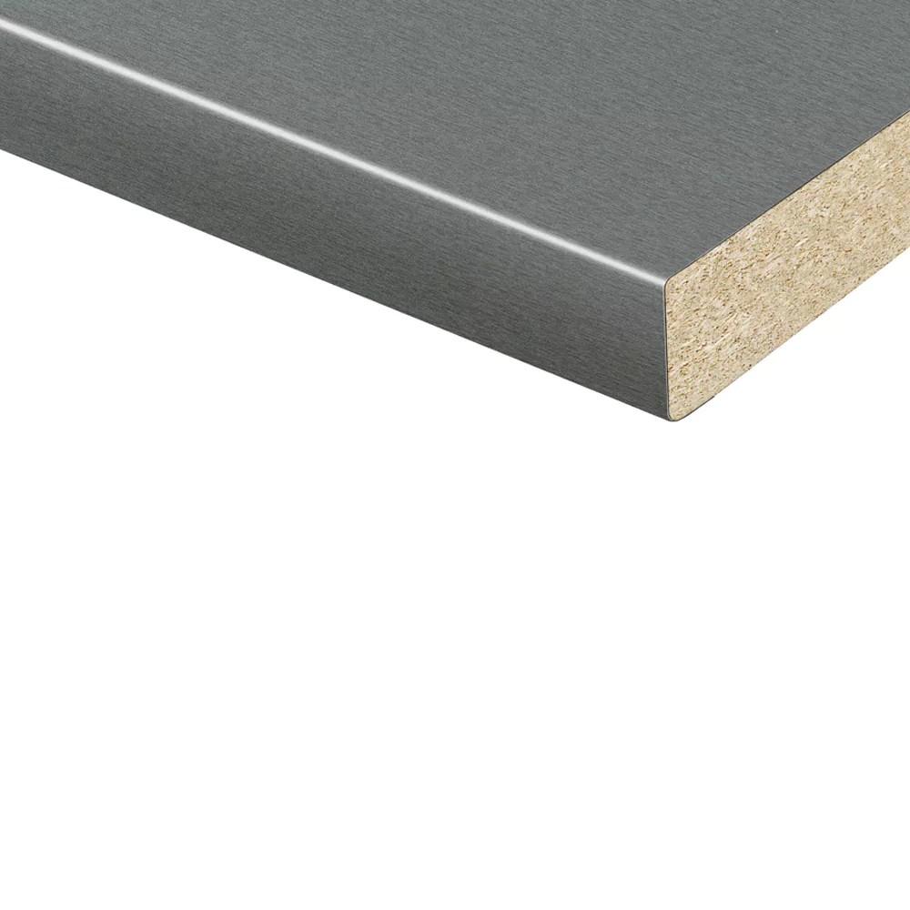 Vereg Arbeitsplatte 4100 X 600 X 38 Mm Silbern Matt ǀ Toom Baumarkt