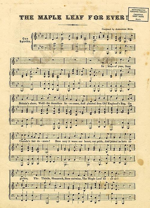 Music score page 1