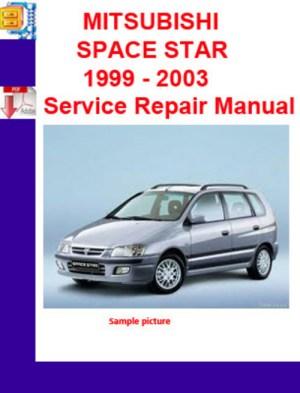 MITSUBISHI SPACE STAR 1999  2003 Service Repair Manual