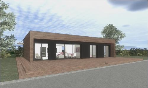 Une Maison Ossature Bois BBC Pour 100000 Euros Sainte