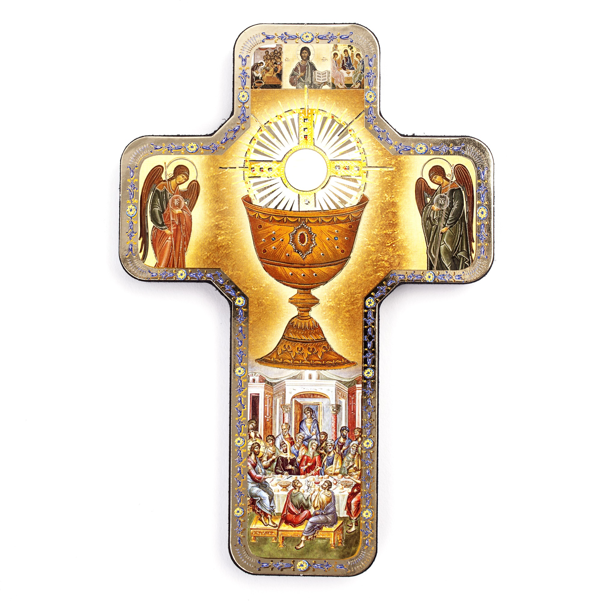 Holy Eucharist Icon Cross