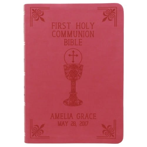 Personalized First Communion Bible